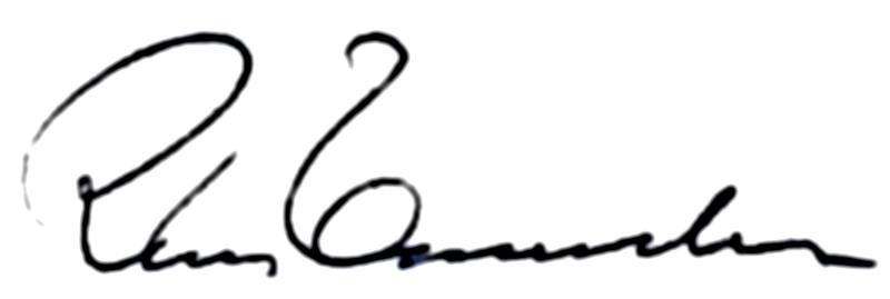 Rune Emanuelsson, signatur