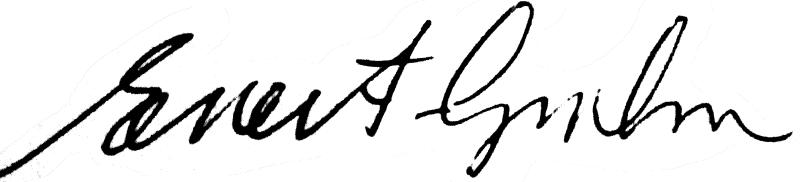 Evert Grahn, signatur