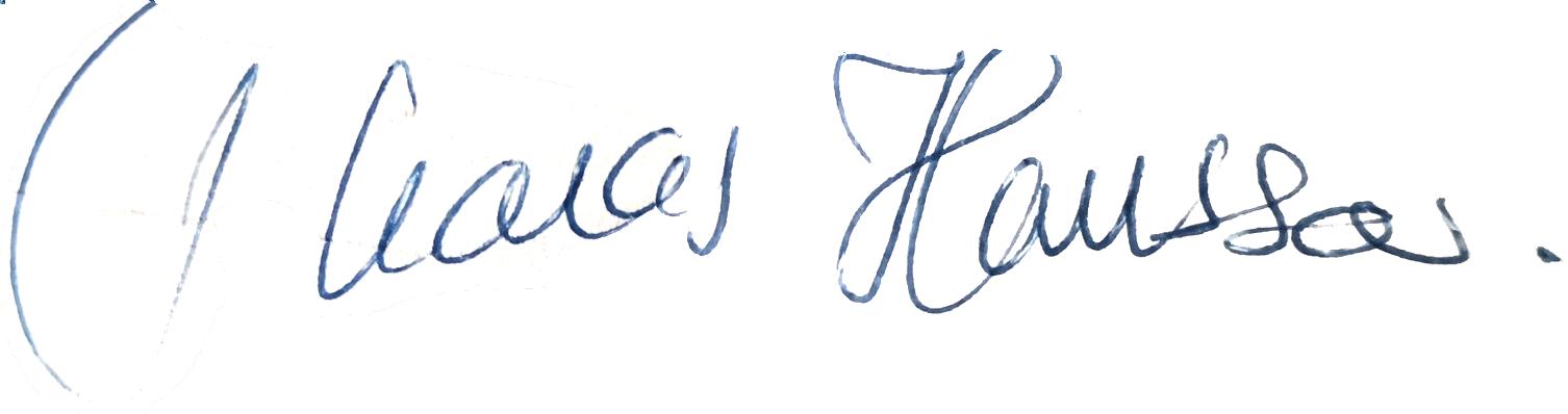 Thomas Hansson, signatur