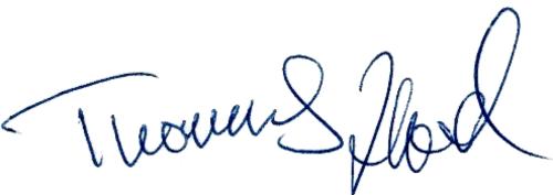Thomas Heed, signatur