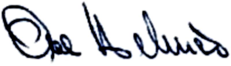 Ove Helmér, signatur