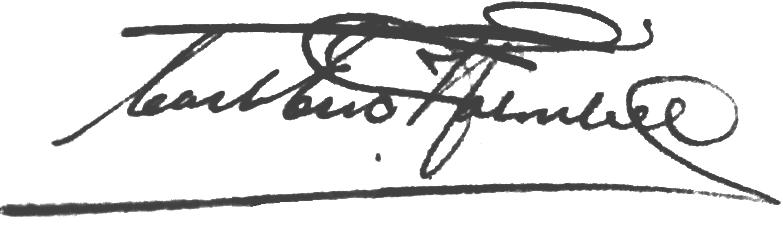 Karl-Erik Holmberg, signatur