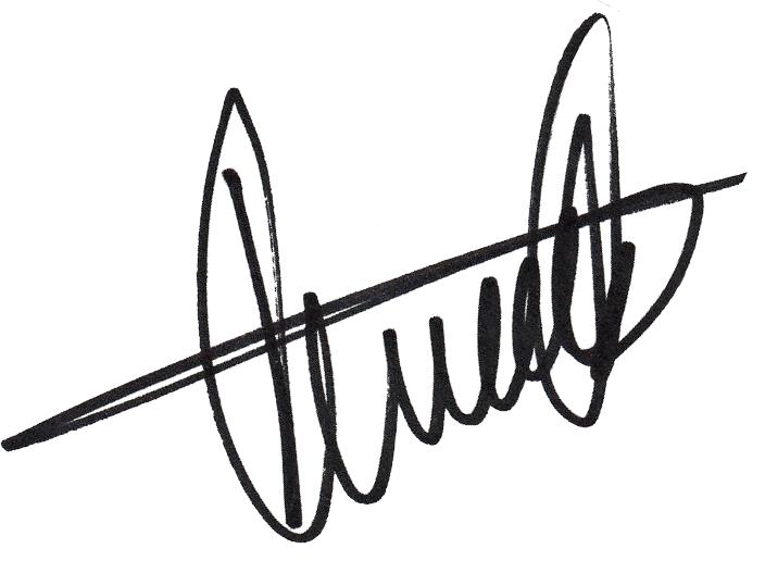 Glenn Hysén, signatur