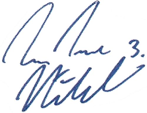 Jon Inge Høiland, signatur