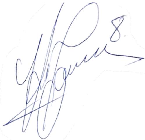 Klas Ingesson, signatur
