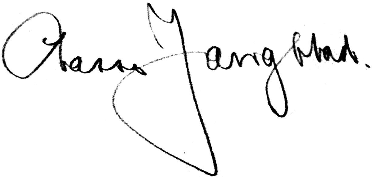 Lars Jangblad (Johansson), signatur
