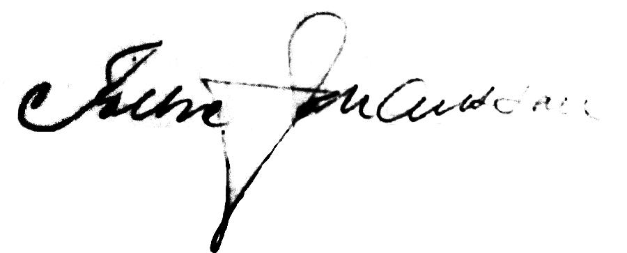 Folke Johansson, signatur
