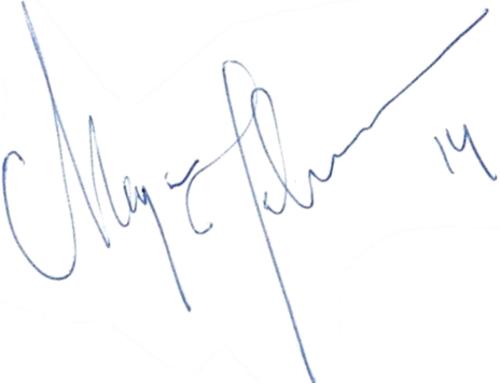 Magnus Johansson, signatur