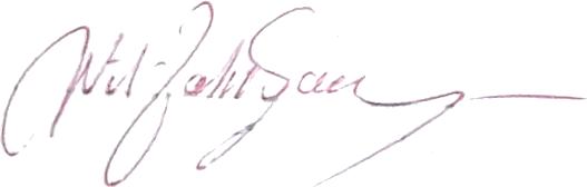 Nils Jonsson, signatur
