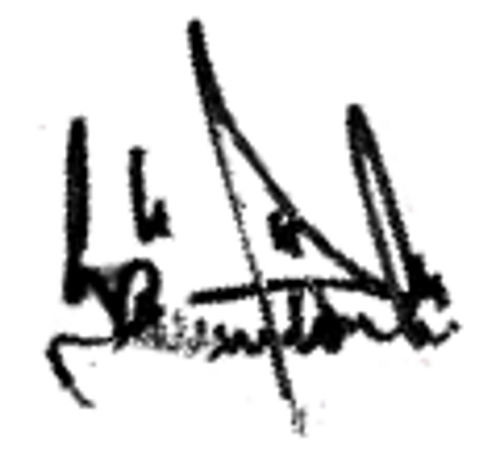 Sören Järelöv, signatur