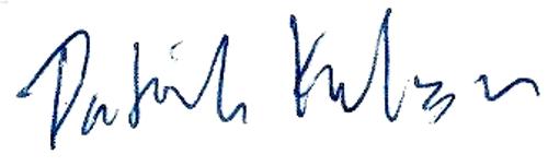 Patrik Dahbo (Karlsson), signatur