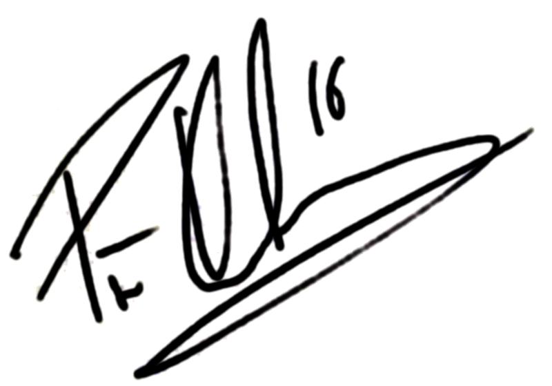 Pär Karlsson, signatur