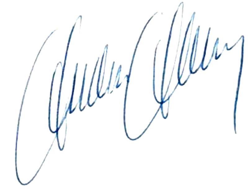 Anders Ahlberg, signatur