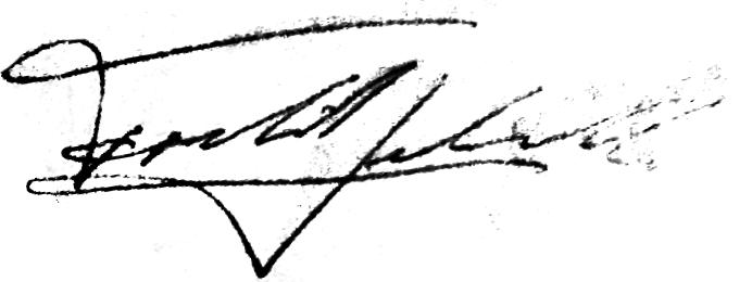 Fredrik Leksell, signatur
