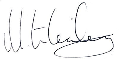 Mats Lilienberg, signatur