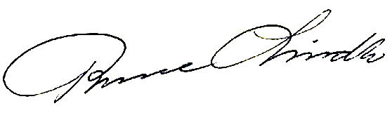 Rune Lind, signatur