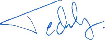 Teddy Lucic, signatur
