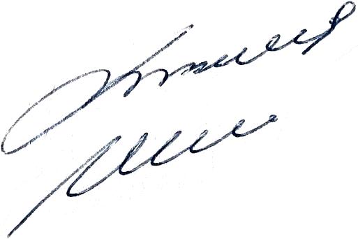 Lennart Nilsson, signatur