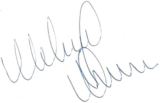 Mikael Nilsson, signatur