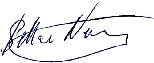 Stellan Nilsson, signatur