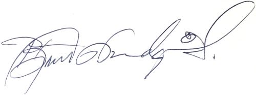 Björn Nordqvist, signatur
