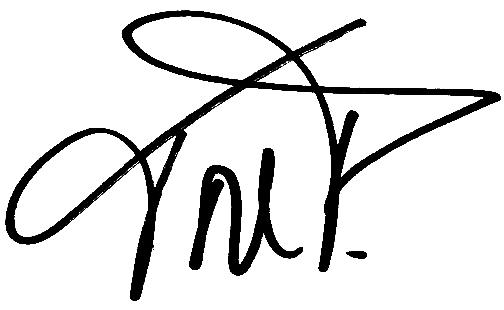 Tore Pedersen, signatur