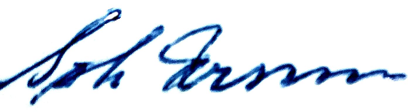 Gösta Persson, signatur
