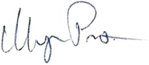 Magnus Pewik (Persson), signatur