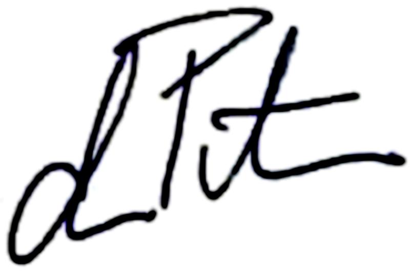 Alexander Petras, signatur