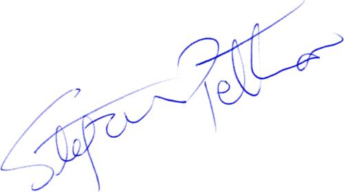 Stefan Pettersson, signatur