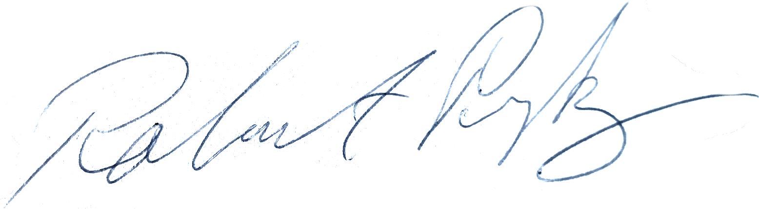 Robert Prytz, signatur