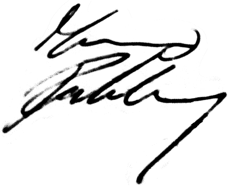 Marino Rahmberg, signatur