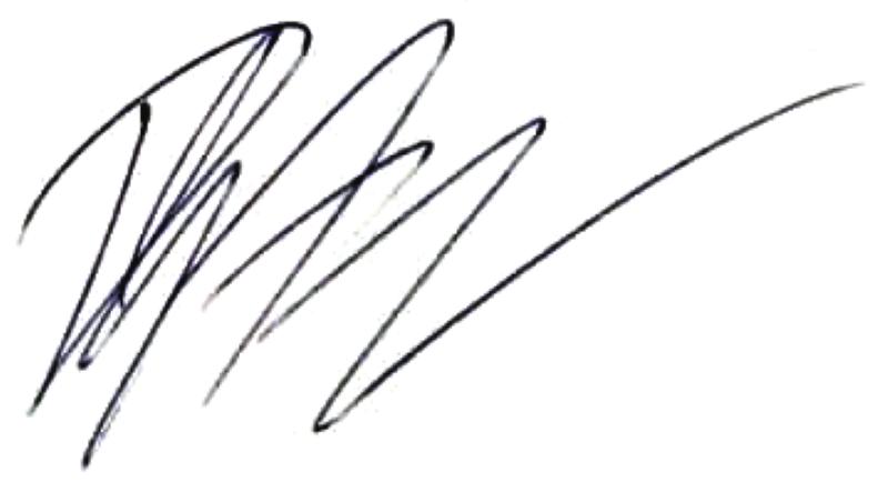 Patric Andersson, signatur
