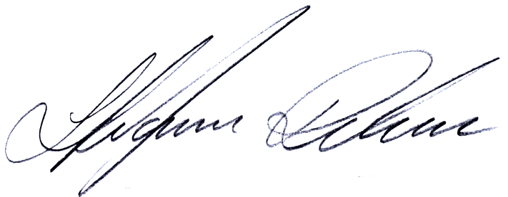 Stefan Rehn, signatur