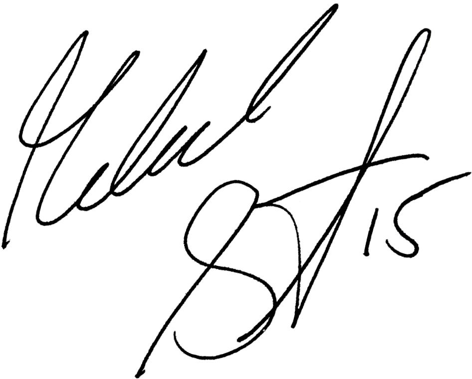 Mikael Sandklef, signatur