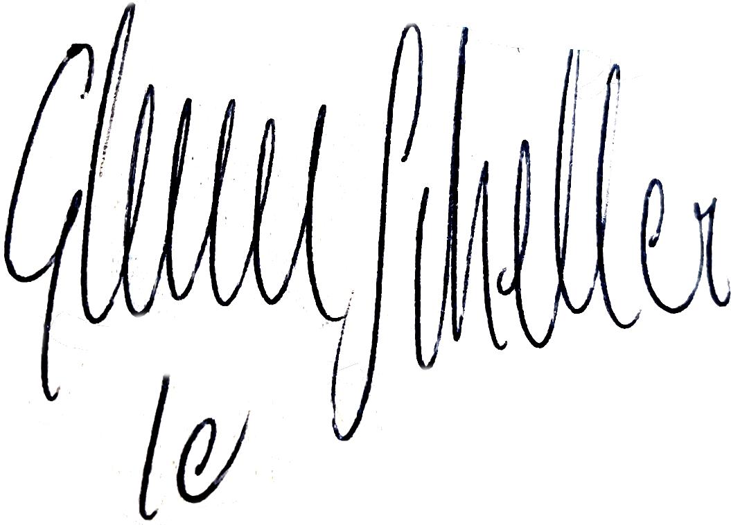 Glenn Schiller, signatur