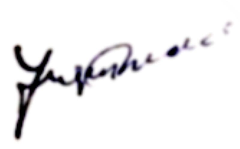 Jan Sjöström, signatur
