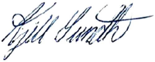 Kjell Sundh, signatur