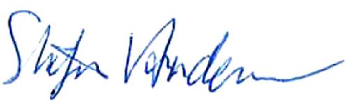 Stefan Andersson, signatur