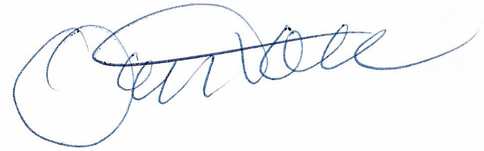 Ove Tobiasson, signatur