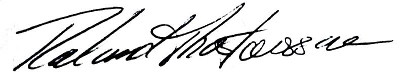 Roland Torstensson, signatur