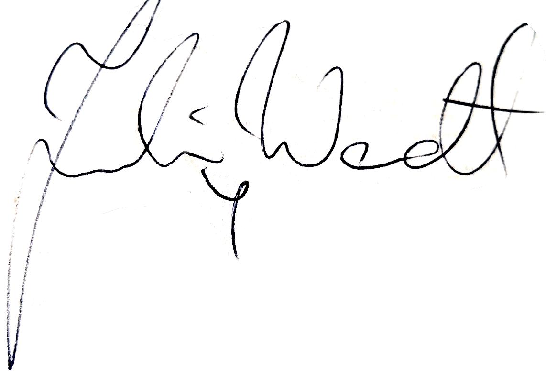 Joakim Wendt, signatur