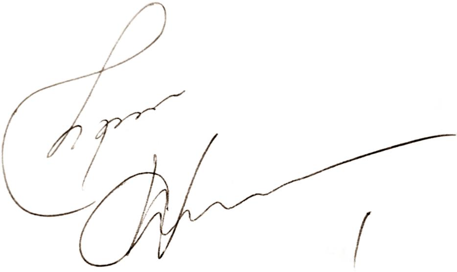 Thomas Wernerson, signatur