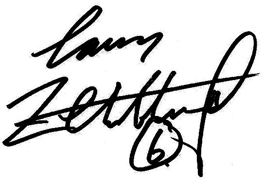 Lars Zetterlund, signatur