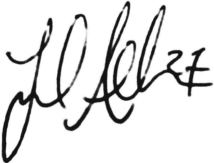 Joel Allansson, signatur