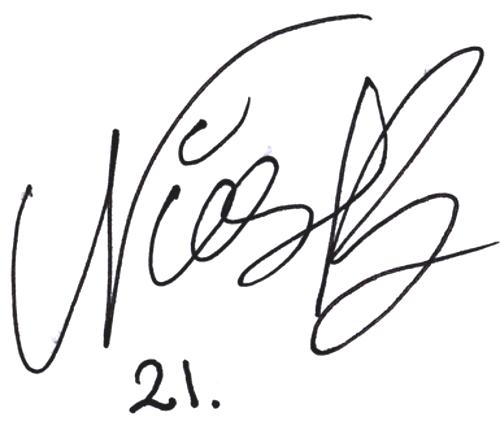 Nicklas Bärkroth, signatur