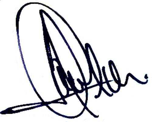 Javier De Pedro, signatur