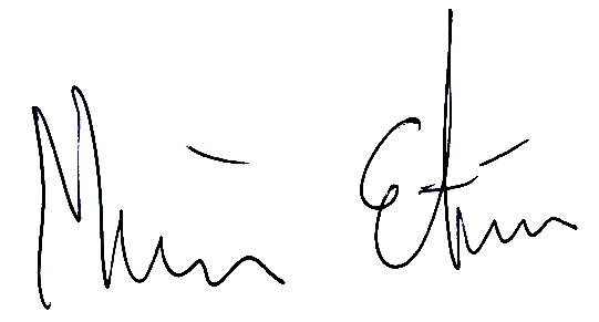 Mathias Etéus, signatur