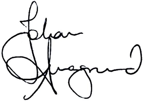 Johan Anegrund, signatur