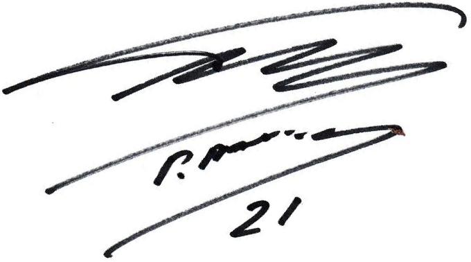 Pontus Farnerud, signatur